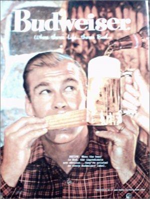 1960 Budweiser Beer ad #1