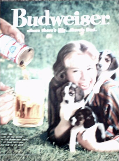 1960 Budweiser Beer ad #4