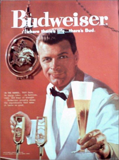 1960 Budweiser Beer ad #6