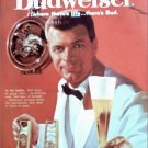 1960 Budweiser Beer ad #6