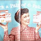 Budweiser Beer Pick A Pair ad