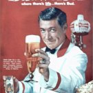 1961 Budweiser Beer Bartender ad