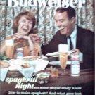 1962 Budweiser Beer ad #1