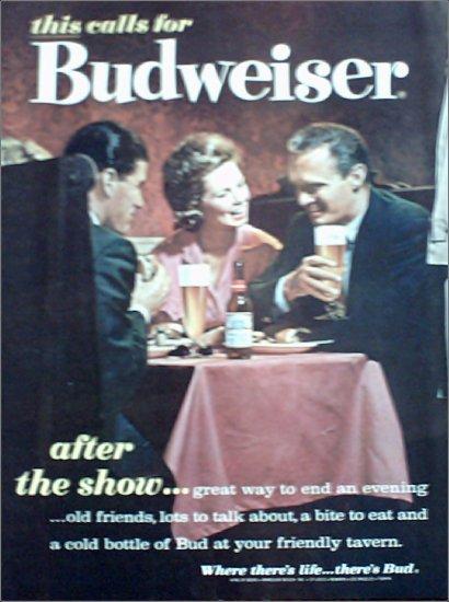 1962 Budweiser Beer ad #4