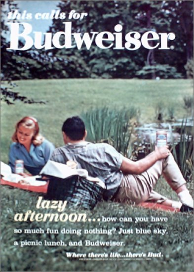 1962 Budweiser Beer ad #5