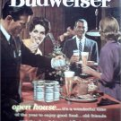 1962 Budweiser Beer ad #6