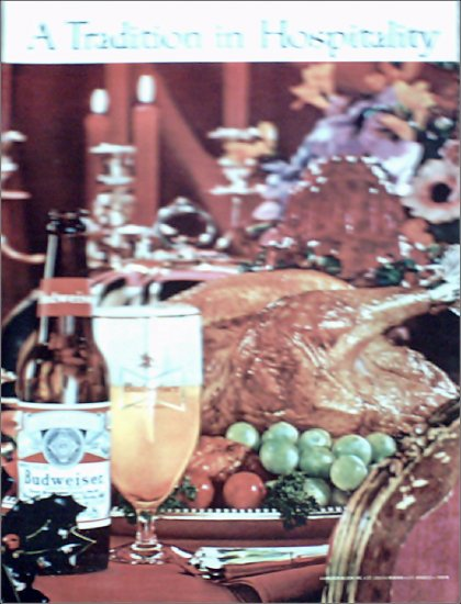 1963 Budweiser Beer ad #4