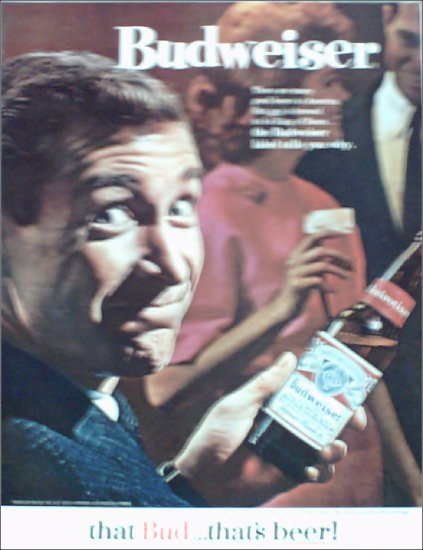 1964 Budweiser Beer ad #2