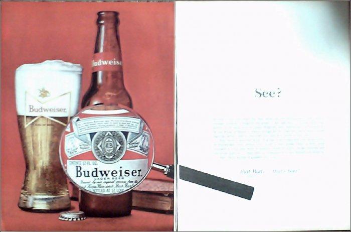 1964 Budweiser Beer ad #4