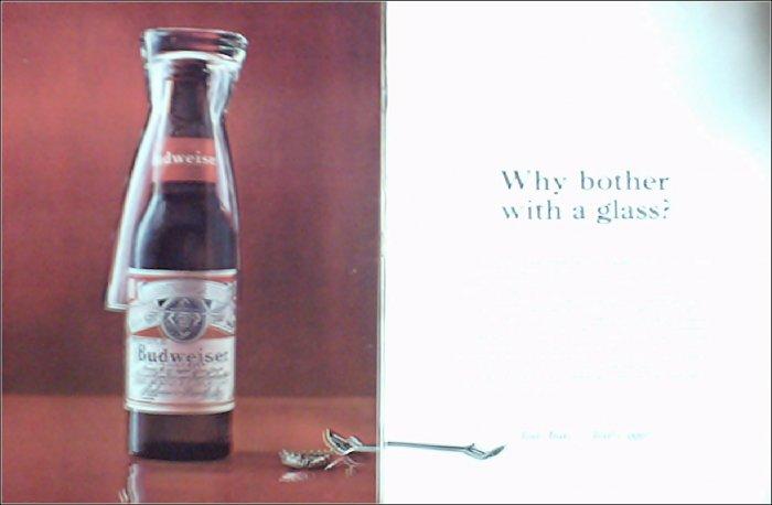 1964 Budweiser Beer ad #5