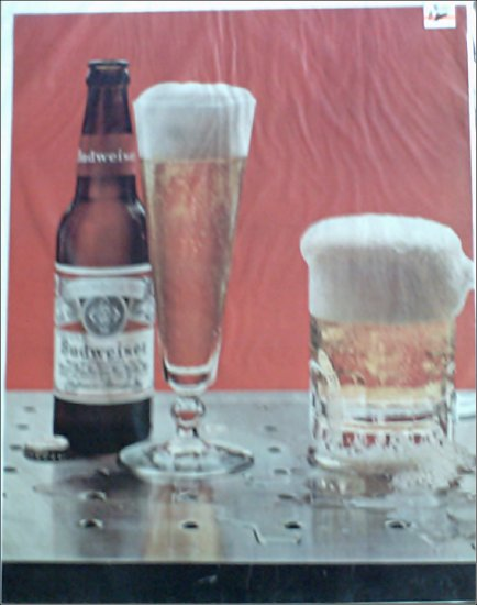 1966 Budweiser Beer ad #1