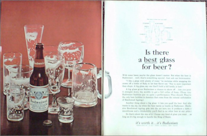 1966 Budweiser Beer ad #6
