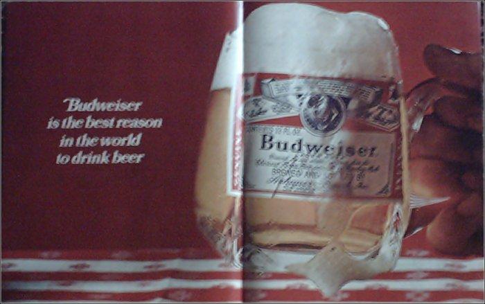 1967 Budweiser Beer ad #2