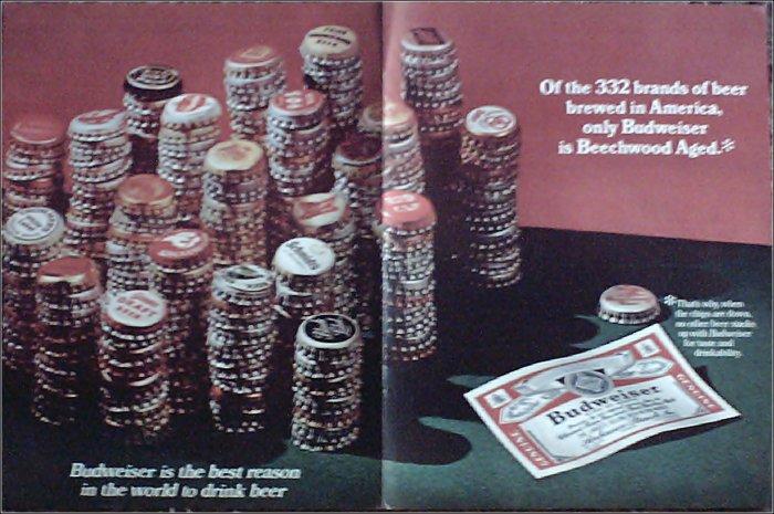 1968 Budweiser Beer ad #5