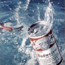 1969 Budweiser Tab Top Beer ad #2