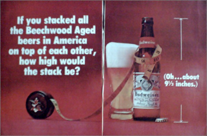 1970 Budweiser Beer ad #3
