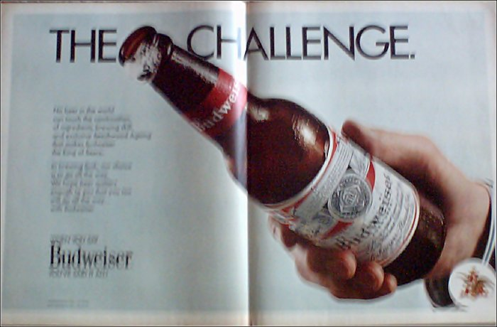 1970 Budweiser Beer ad #4