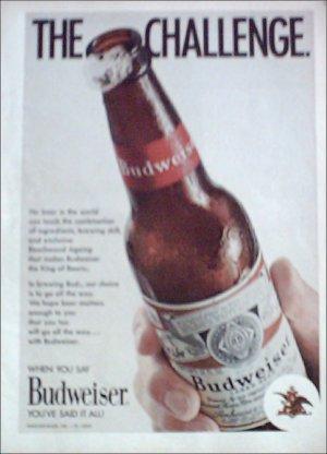 1971 Budweiser Beer ad #1