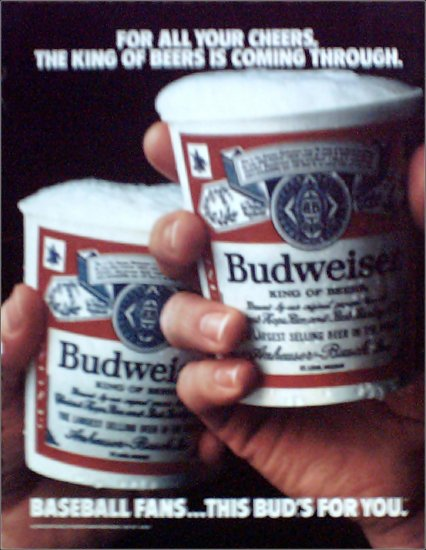 Budweiser Beer ad #2