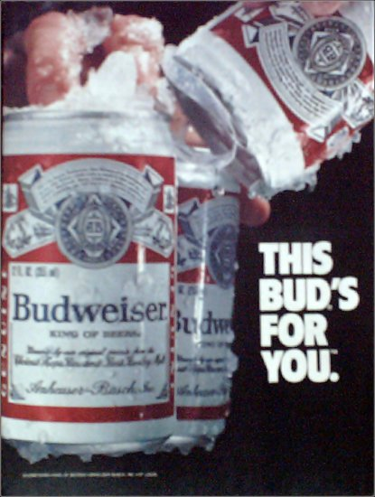 Budweiser Beer ad #3