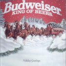 1990 Budweiser Happy Holidays Beer ad