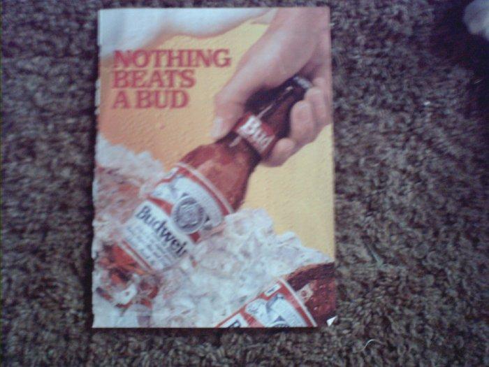 1990 Budweiser Beer ad