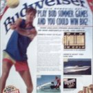 1992 Budweiser Beer Contest ad #1