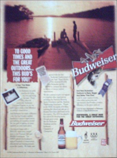 1996 Budweiser Beer ad