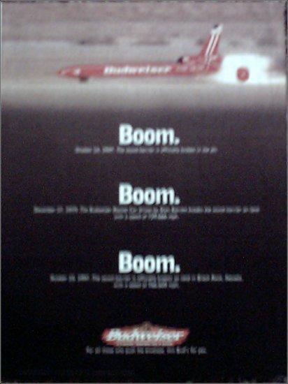 1997 Budweiser Beer ad