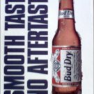 1990 Bud Dry Beer ad