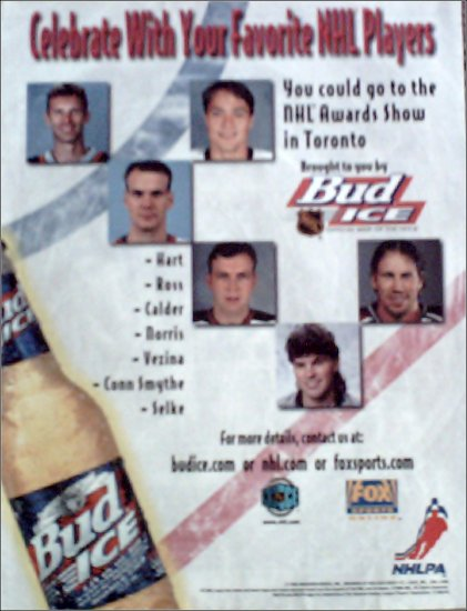 1998 Bud Ice Beer ad