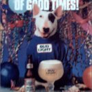 1987 Bud Light Spuds MacKenzie Beer ad