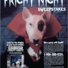 1988 Bud Light Spuds MacKenzie Halloween Contest Beer ad