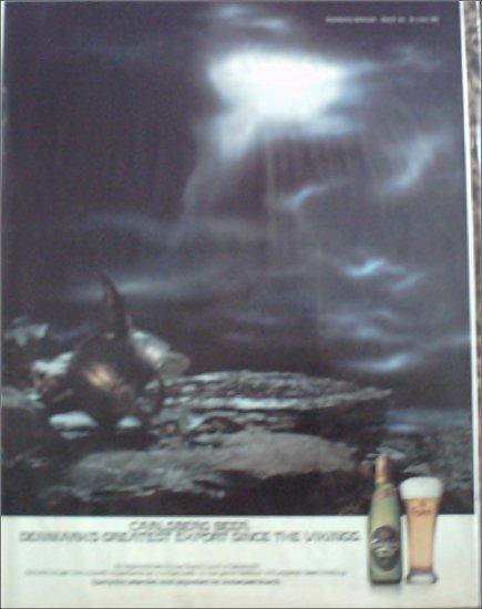 Carlsberg Beer ad