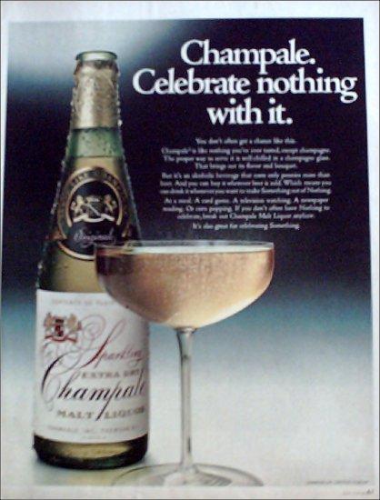 1969 Champale Malt Liquor ad #2