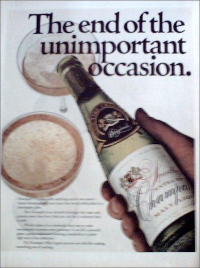 1969 Champale Malt Liquor ad #3