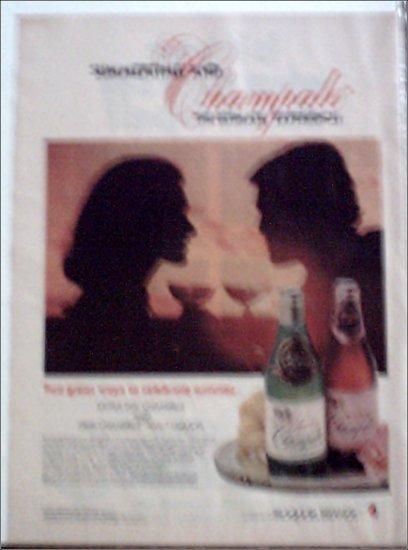 1978 Champale Malt Liquor ad