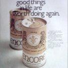1971 Encore Beer ad