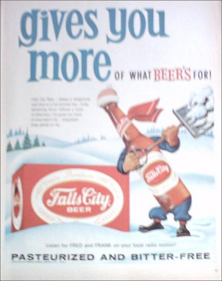 1963 Falls City Beer ad