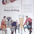 1955 Falstaff Beer ad