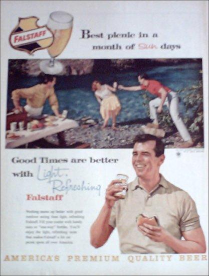 Falstaff Beer Picnic ad