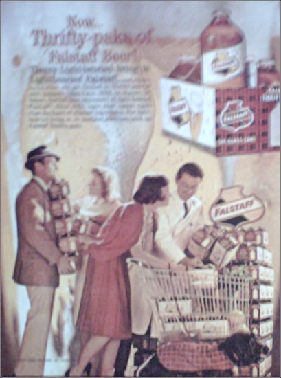 1962 Falstaff Beer ad #2