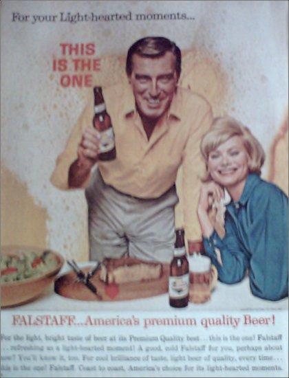 1963 Falstaff Beer ad #1