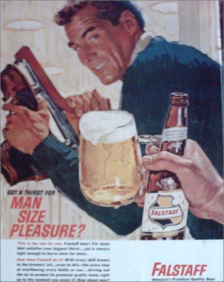 1964 Falstaff Beer ad #1