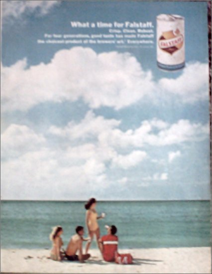 1967 Falstaff Beer ad #1