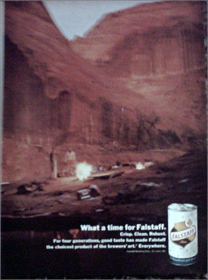 1967 Falstaff Beer ad #2