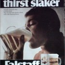 1968 Falstaff Beer Thirst Slaker ad #1