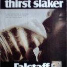 1968 Falstaff Beer Thirst Slaker ad #2