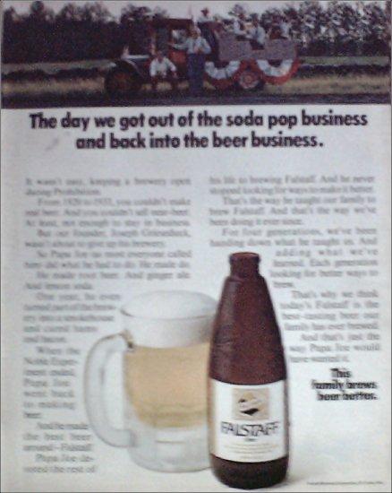 1969 Falstaff Beer ad #3