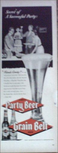 1953 Grain Belt Beer ad